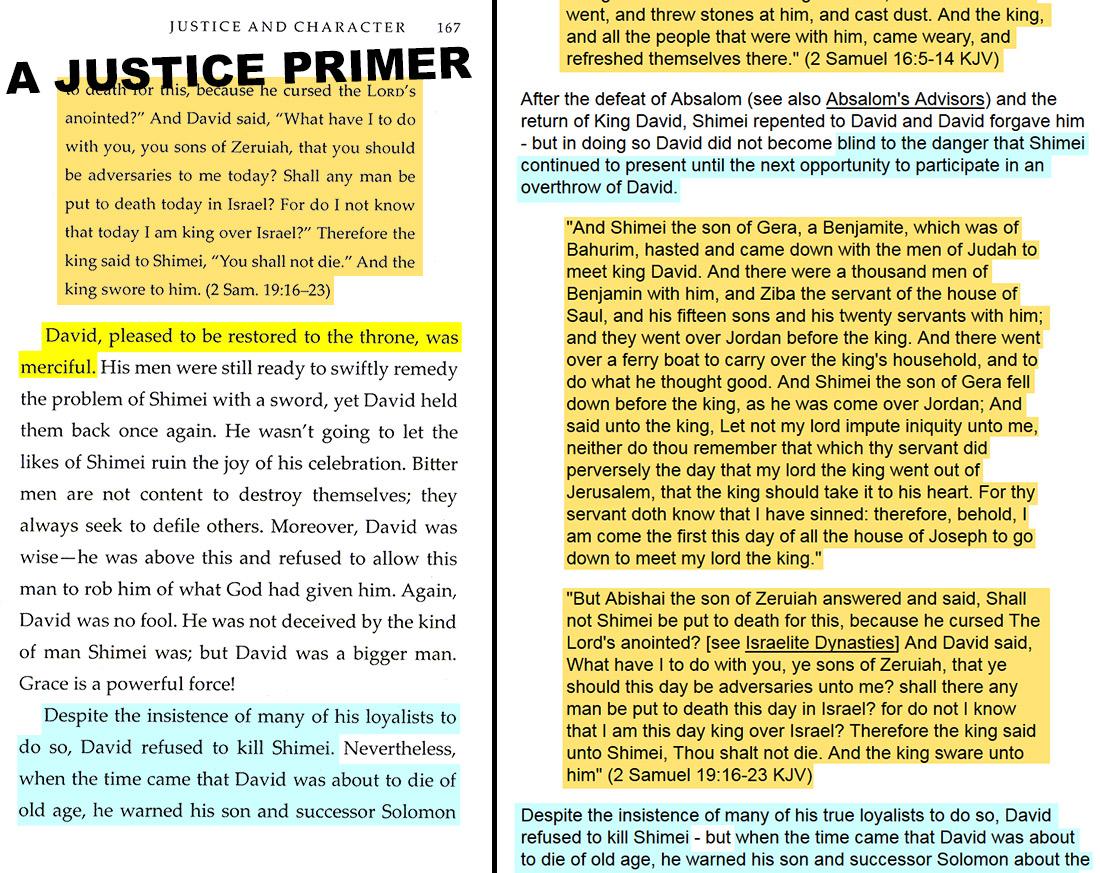 A Justice Primer page 167 — Wayne Blank