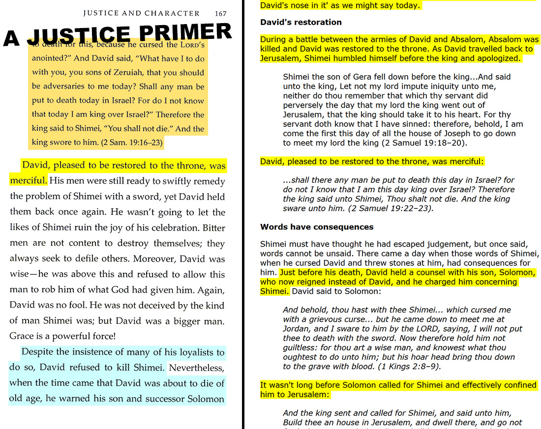 A Justice Primer page 167 — Paul Rose