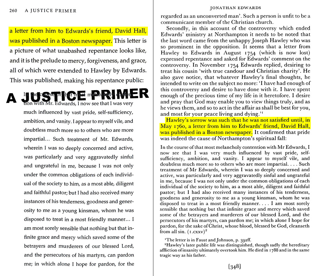 A Justice Primer page 260 — Ian Murray page 348