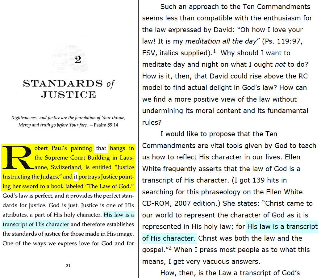A Justice Primer page 31 — Ellen G. White
