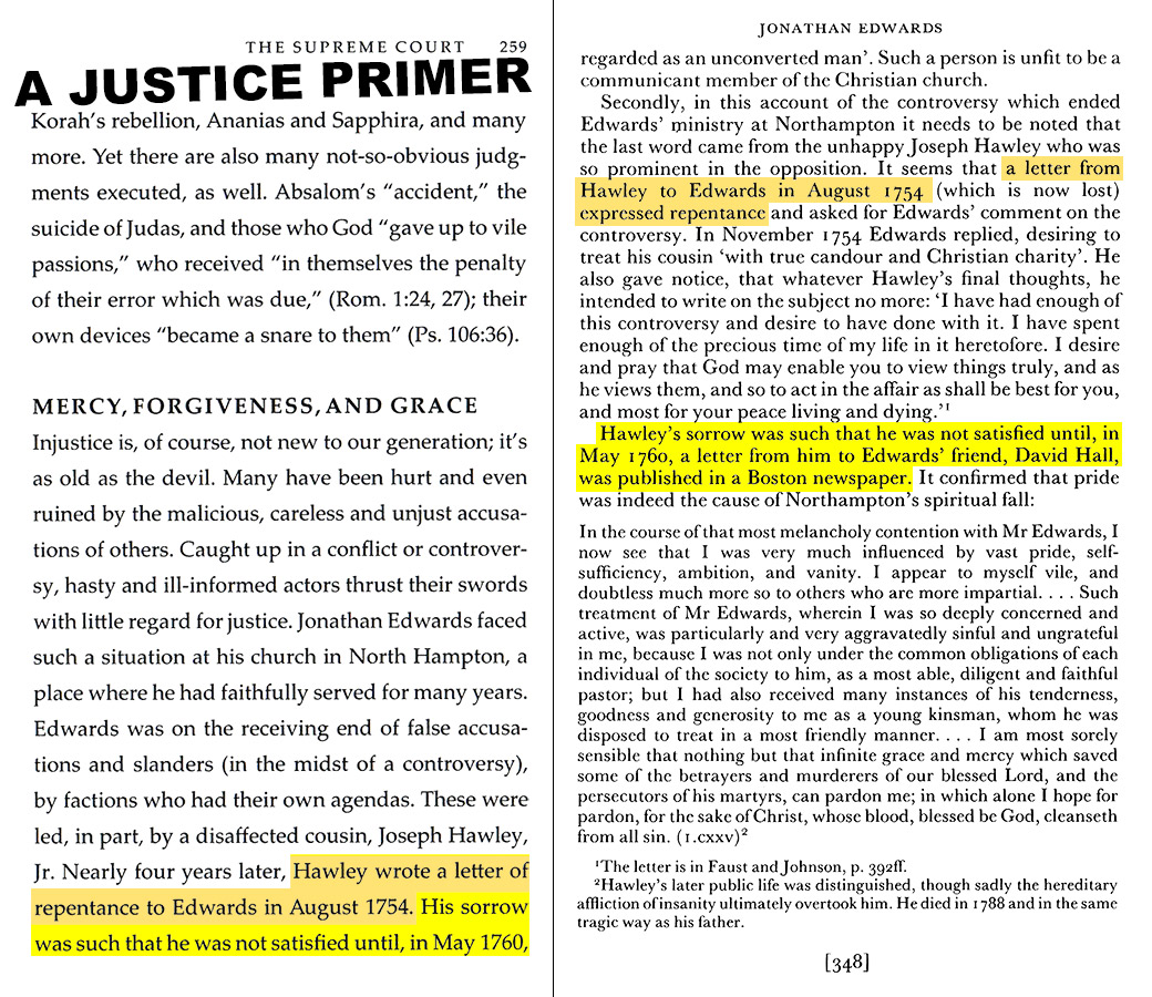 A Justice Primer page 259 — Ian Murray page 348