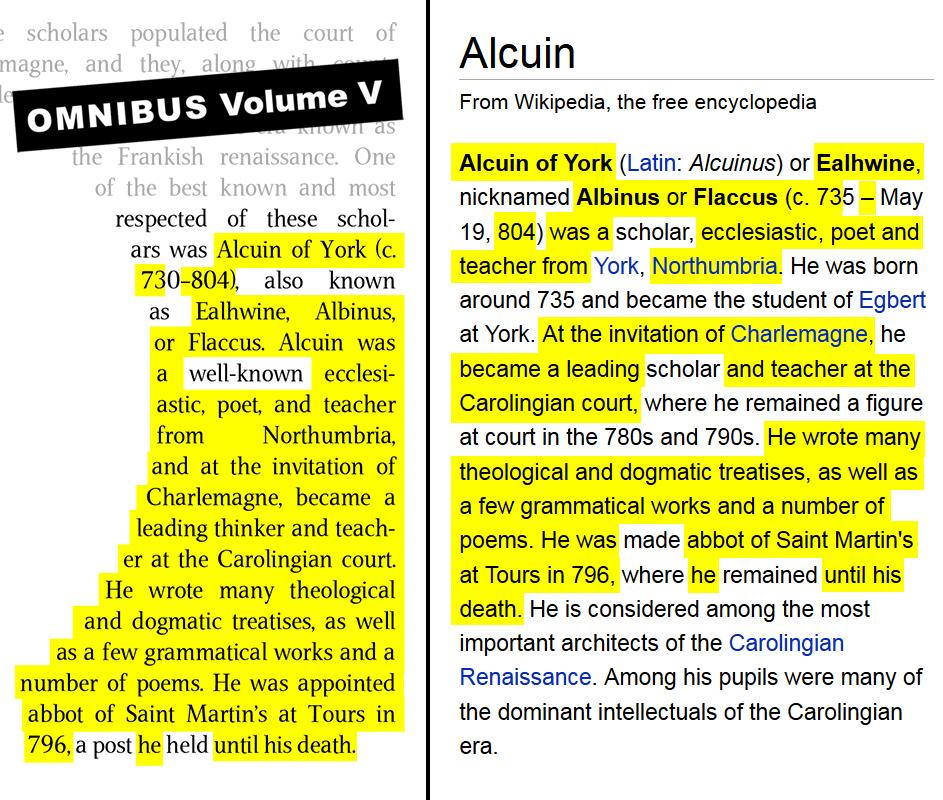 Volume V, page 85, Alciun