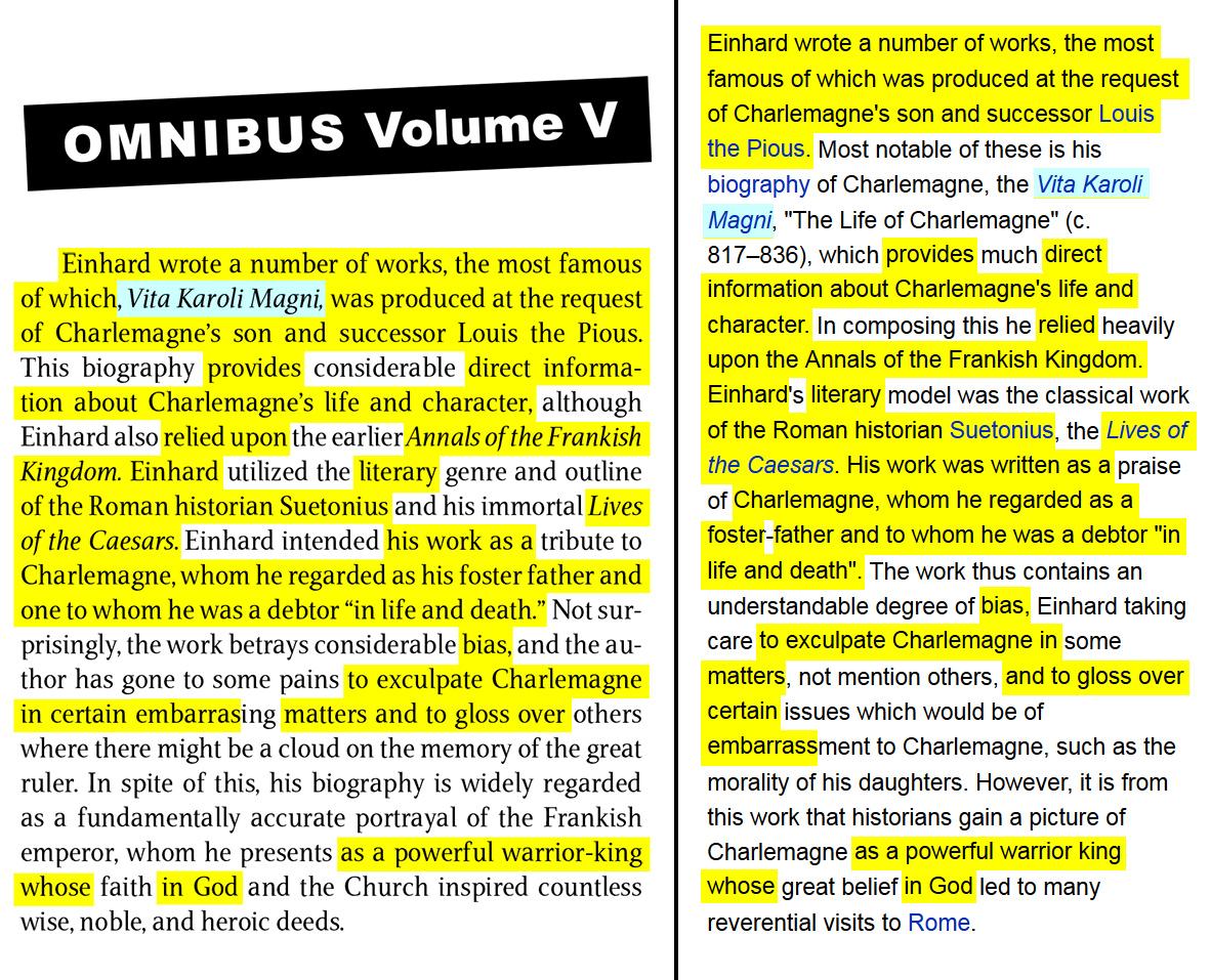 Volume V, page 83, works
